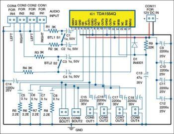 4 канальный усилитель звука-1