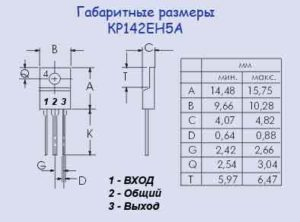 КР142ЕН5А характеристики-3