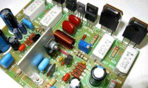 Схемы УМЗЧ на транзисторах-01