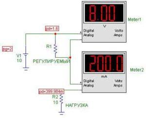 Схемы УМЗЧ на транзисторах-10