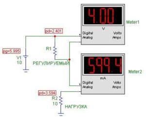 Схемы УМЗЧ на транзисторах-12