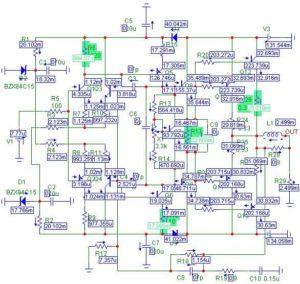 Схемы УМЗЧ на транзисторах-3