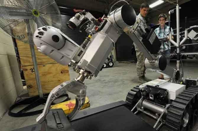 Алгоритм управления роботами