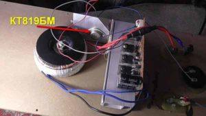 Ремонт усилителя активной акустики-4