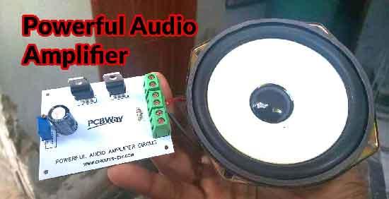 Аудио усилитель