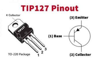 Распиновка TIP127