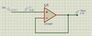 Схема операционного усилителя-10