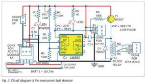 Принципиальная схема датчика тока
