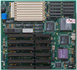 Плата под процессор 386
