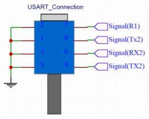 Коннектор USART