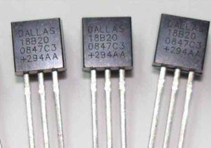 DS18B20 подключение к Arduino-1