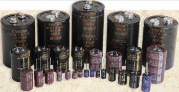 Электролитические конденсаторы-1