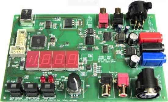 Электронные регуляторы громкости