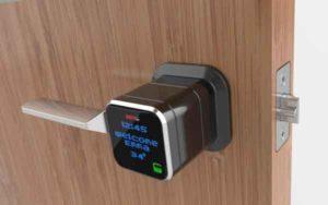 Электронный замок на дверь-1