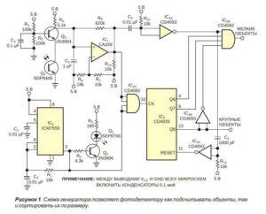 Фотоэлектрические датчики-1