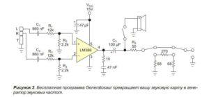 Генератор синусоидального сигнала-2