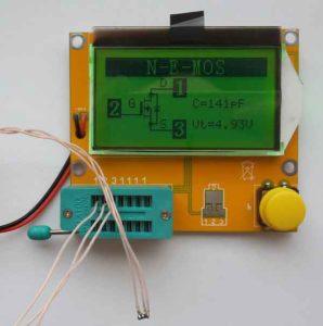 Многофункциональный измеритель ESR-RLC-12