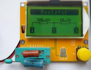 Многофункциональный измеритель ESR-RLC-5
