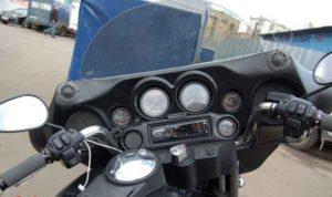 Установка акустики на Harley Davidson-2