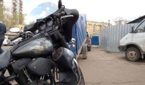 Установка акустики на Harley Davidson-7