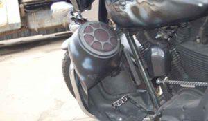 Установка акустики на Harley Davidson-8
