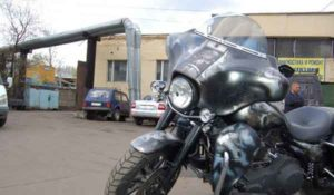 Установка акустики на Harley Davidson-9