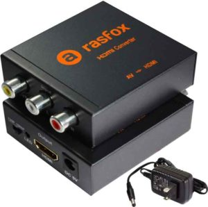 Rasfox AV/RCA to HDMI Converter
