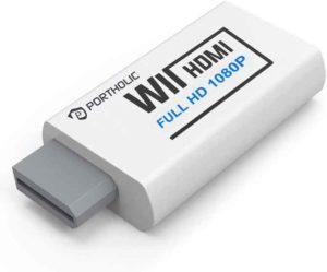 PORTHOLIC Wii to HDMI Converter