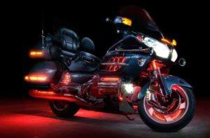Ксеноновая подсветка мотоцикла Honda Good Wing