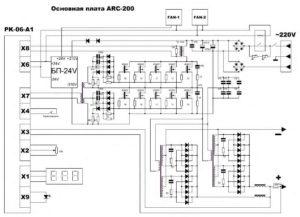 Инвертор сварочный ARC-200-7
