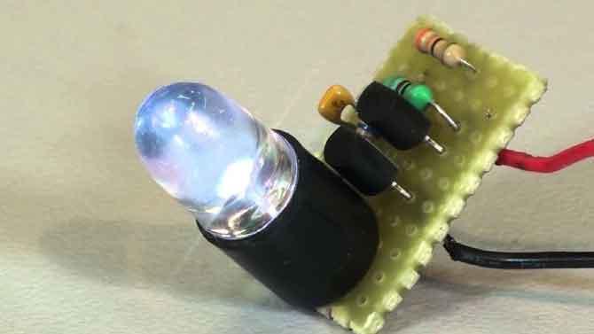 Использование светодиода