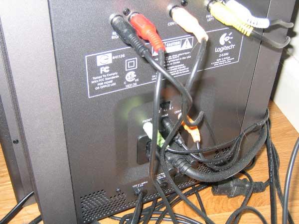 Как подключать сабвуфер к компьютеру-1