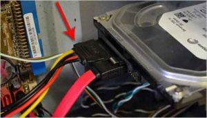 Как подключить жесткий диск к компьютеру-10