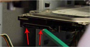 Как подключить жесткий диск к компьютеру-5