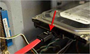 Как подключить жесткий диск к компьютеру-8