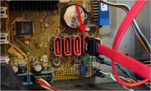 Как подключить жесткий диск к компьютеру-9