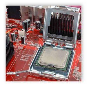 Как установить процессор на материнскую плату-6