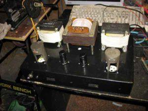 Схема лампового усилителя на ГУ-50-4