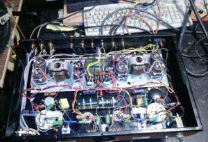 Схема лампового усилителя на ГУ-50-8