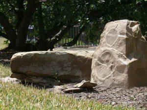 Ландшафтный звучащий камень-2