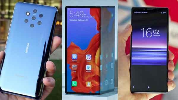Лучшие телефоны MWC 2019
