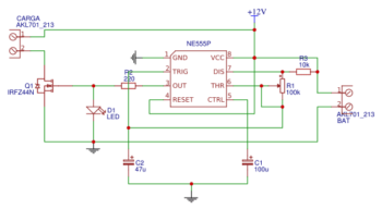 Микросхема 555-1