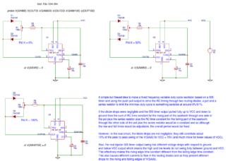 цикл фиксированной частоты генератора
