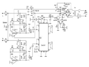 Микросхемы tda для усилителей звука-1