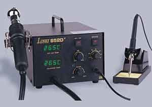 Модификация паяльной станции LUKEY-852D+19
