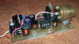 Драйвер для лазерного диода