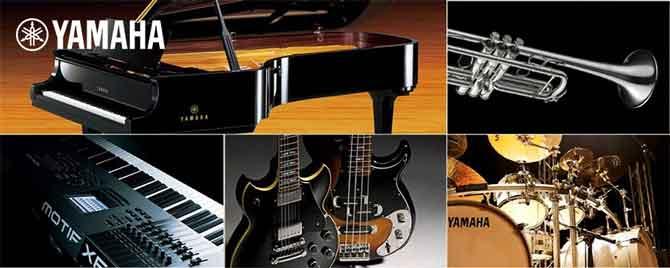 Музыкальный путь компании Yamaha