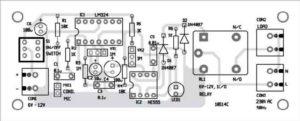 Компоновка компонентов печатной платы