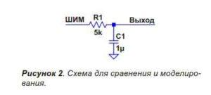 Объединение ШИМ с лестничным ЦАП-2