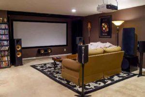 Объемный звук домашнего кинотеатра